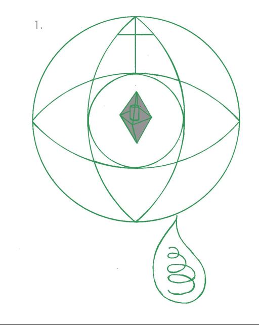 WHITE mandala 1